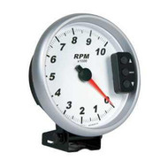 Performance Tachometer White Face