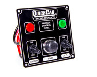 QuickCar Ignition Control Panel Black