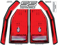 Tail Light Decal Kit