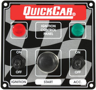 Quick Car Ignition Panel with lights