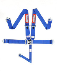 Racequip Racing Harness 5pt. Blue Belts