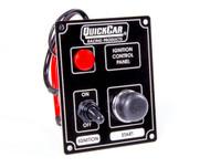 QuickCar Ignition Panel Black