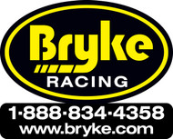Bryke Racing Logo Nose Decal