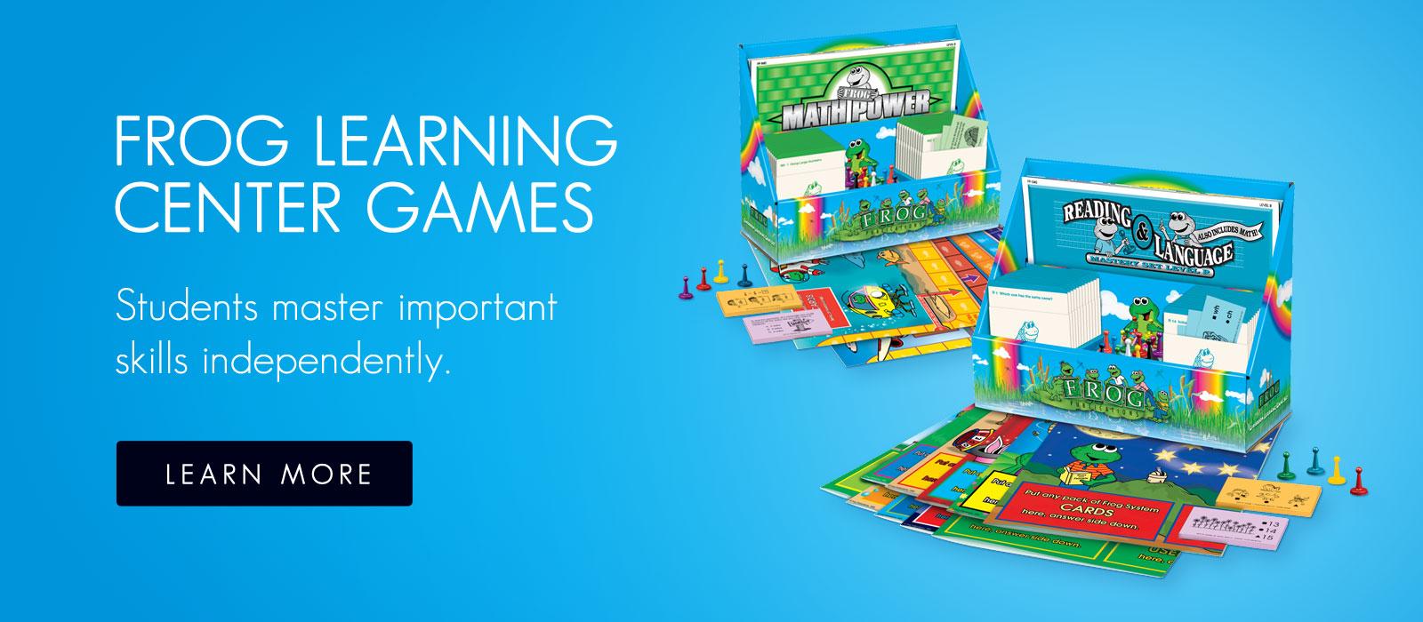 Frog Learning Center Games