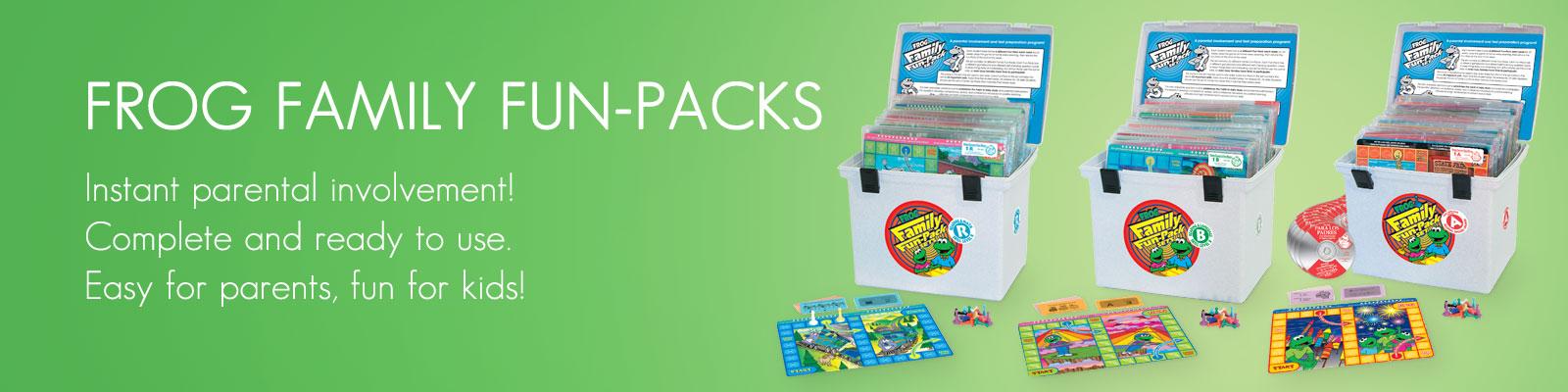 Frog Family Fun-Packs