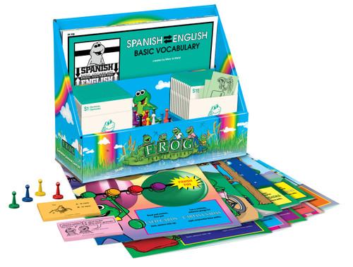 Learning Center Games - Spanish/English Basic Vocabulary Set