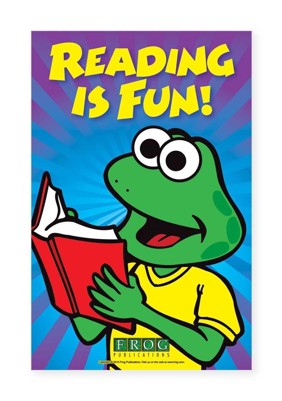 """Classroom Poster - """"Reading is Fun"""""""