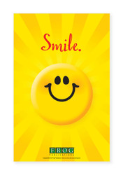 "CP-705 11""x17"" Classroom Poster - ""Smile"""