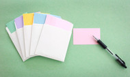 """FP-405 Blank Gamepacks - 5 packs of blank cards with pockets (3-3/8"""" x 2"""")"""