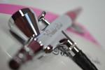 Closeup of the Tickled Pink Airbrush Makeup Gun