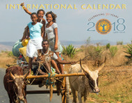 Weekly markets in the small villages of central Madagascar are exciting events, a chance to socialize as well as to do business. Headed home from market with their oxcart loaded with huge sacks of recently shorn wool, these young women happily celebrate a successful day of buying and selling—and fun.