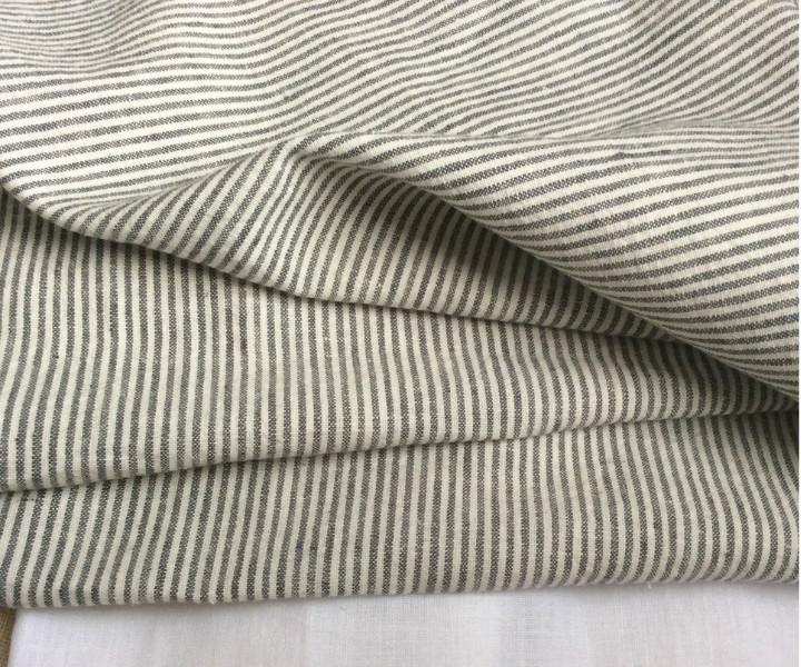 Black And White Pinstriped Duvet Cover Custom Size Queen