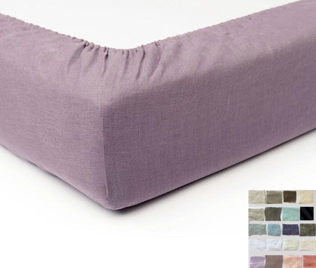 linen box spring cover bed skirt alternative white grey cream pink blue stripe chevron. Black Bedroom Furniture Sets. Home Design Ideas