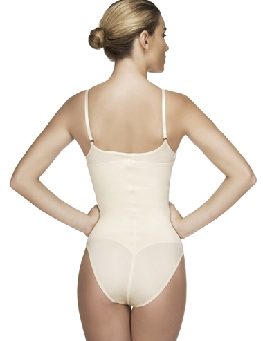 Lea Brief Body Suit - Nude