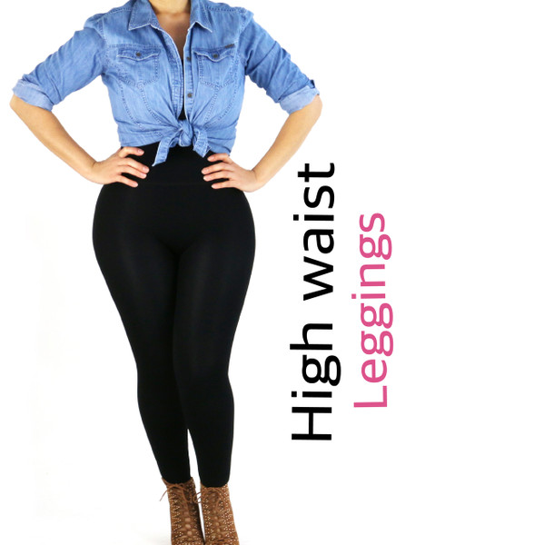 Instantly Thinner - Double Layer Waistband Leggings