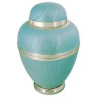 Sea Blue Cremation Urn