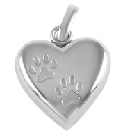 Paws on my Heart Memorial Pendant