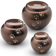 Odyssey Chestnut Bronze Paw Urn - X Large