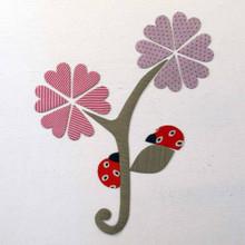 Tinch Studio Magnets - Flower & Ladybugs