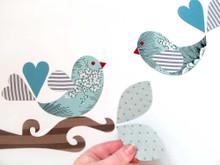Tinch Studio Magnets - Lovebirds