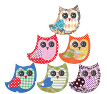 Tinch Design Studio - Owl Friends Set of 6