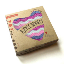 O.B. Designs Ripple Blanket - Galah