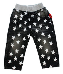 Curious Wonderland - Super Star Denim Shorts - Grey (LAST ONE LEFT - SIZE 3 YEARS)