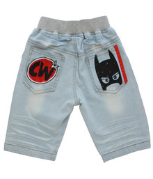 Curious Wonderland - Super Mask Denim Shorts - Blue (ONLY SIZE 1 & 4 YEARS LEFT)
