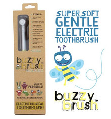 Jack and Jill Buzzy Brush - Electric Musical Toothbrush