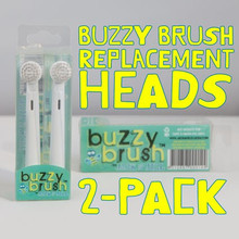 Jack and Jill Replacement Heads - Buzzy Brush
