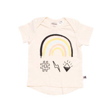 Milk & Masuki Short Sleeve Tee - Rainbow