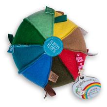 O.B. Designs Tag Ball - Rainbow