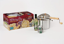 Whirley Pop Popcorn Popper - Gift Set