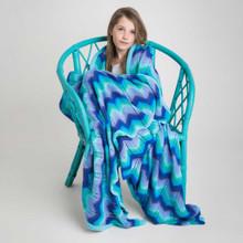 O.B. Designs Giant Ripple Blanket - Sky