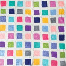 O.B. Designs Patchwork Rainbow Blanket