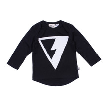 Milk & Masuki Long Sleeve Tee - Triangle Lightning