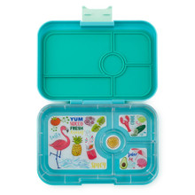 Yumbox Tapas - Antibes Blue 4 Compartment