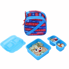 Goodbyn Expandable Lunch Kit - Zap (Blue)