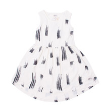 Milk & Masuki Singlet Dress - Different Strokes (ONLY SIZES 3 & 4 YEARS LEFT)
