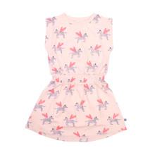 Neon Kite Elastic Dress - Pegasus (LAST ONE LEFT - SIZE 2 YEARS)