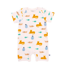 Neon Kite Short Sleeve Button All - Menagerie
