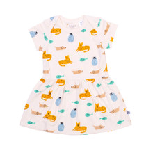 Neon Kite Baby Dress - Menagerie