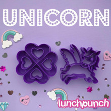 Lunch Punch (2 set) - I <3 Unicorn