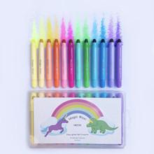 Lunables Magic Waxi  Neon Gel Crayons (12 Pack)