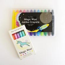 Lunables Magic Waxi  Neon Mini Pack and Jumbo Gel Crayon Combo