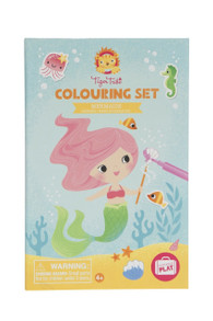 Tiger Tribe Colouring Set - Mermaid