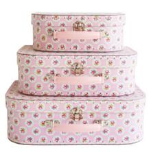 Alimrose Suitcase Set - Floral Medallion