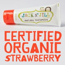 Jack and Jill Natural Toothpaste - Strawberry