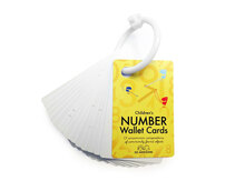 SO Awesome - Children's Number Wallet Cards