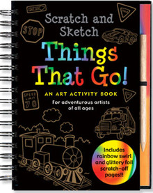 Scratch & Sketch Things That Go!